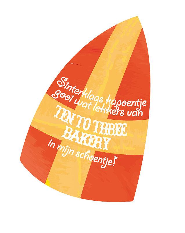 Sinterklaas Sticker Design