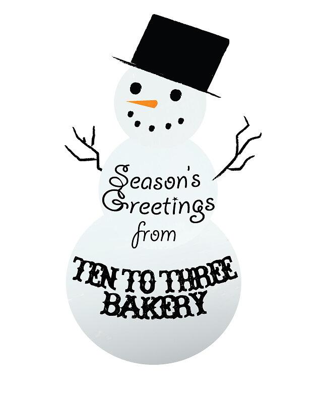 Christmas Sticker Design