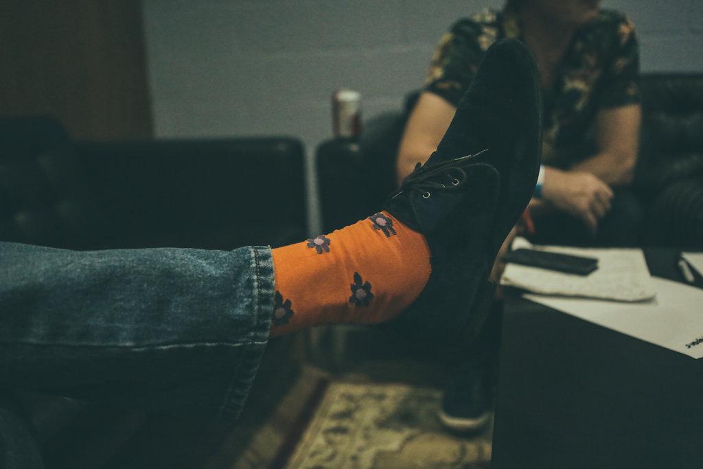 Mary Margaret O'Hara/Marcus' socks