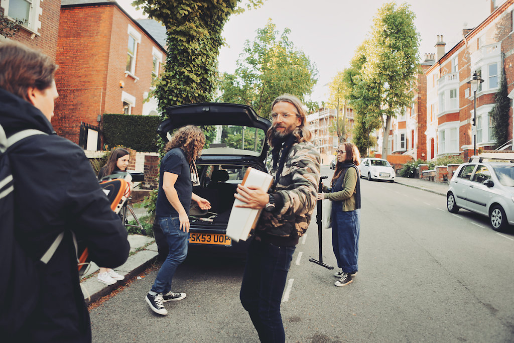 Arriving in Hampstead